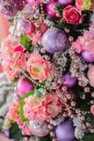 Cierre de la decoración del árbol de navidad para arriba Fotografía de archivo