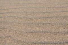 Cierre de la duna de arena para arriba Fotos de archivo