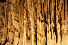 Cierre de la formación de roca para arriba Foto de archivo libre de regalías