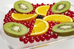 Cierre de la fruta fresca para arriba Foto de archivo libre de regalías
