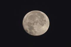 Cierre de la Luna Llena para arriba Fotos de archivo