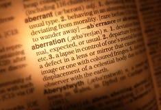 Cierre de la paginación del diccionario para arriba Foto de archivo libre de regalías