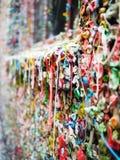 Cierre de la pared de la goma de Seattle para arriba Imagen de archivo libre de regalías