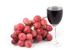 Cierre de la parte delantera encima de la fruta de la uva Imagen de archivo