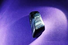 Cierre de la piedra preciosa de Hawkeye para arriba Fotos de archivo libres de regalías