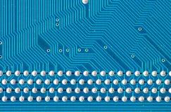 Cierre de la tarjeta de circuitos Imagen de archivo libre de regalías
