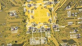 Cierre de la tarjeta de circuitos para arriba metrajes