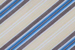 Cierre de la textura del paño de las rayas para arriba imagenes de archivo