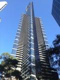 Cierre de la torre de Eureka encima de Southbank Melbourne Foto de archivo libre de regalías