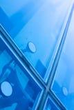 Cierre de la ventana de la oficina para arriba Fotografía de archivo libre de regalías