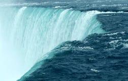 Cierre de Niagara Falls para arriba foto de archivo