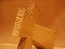Cierre de piedra de la cruz para arriba Imágenes de archivo libres de regalías