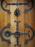 Cierre de puerta del castillo Foto de archivo libre de regalías