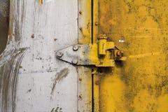 Cierre de puerta viejo Imagen de archivo libre de regalías