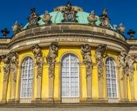 Sanssouci en Potsdam Imagenes de archivo