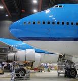 Cierre del avión de reacción para arriba Fotos de archivo libres de regalías