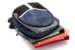 Cierre del bolso de escuela para arriba Imagenes de archivo