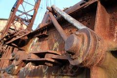 Cierre del brazo del hierro Fotografía de archivo