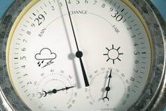 Cierre del calibrador del tiempo para arriba imagen de archivo libre de regalías