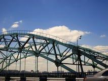Cierre del camino del puente Imagen de archivo libre de regalías