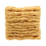 Cierre del cuadrado del cereal para arriba Imagen de archivo