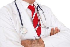 Cierre del doctor para arriba Imagen de archivo libre de regalías