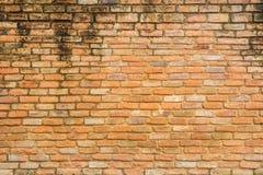 Cierre del fondo de la textura de la pared de ladrillos rojos para arriba fotos de archivo