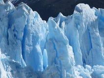 Cierre del glaciar de Perito Moreno para arriba Foto de archivo