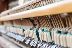 Cierre del interior del piano para arriba Imagen de archivo