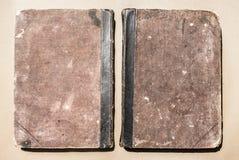 Cierre del libro viejo para arriba Imagenes de archivo