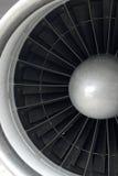 Cierre del motor de jet para arriba Foto de archivo libre de regalías