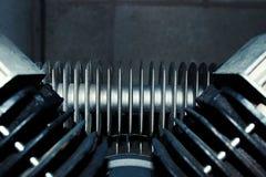 Cierre del motor de la máquina para arriba Imágenes de archivo libres de regalías
