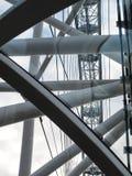 Cierre del ojo de Londres para arriba Fotografía de archivo libre de regalías