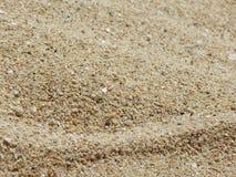 Cierre del piso de la arena para arriba Foto de archivo libre de regalías