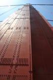 Cierre del puente de puerta de oro para arriba foto de archivo libre de regalías