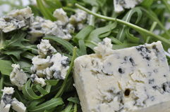 Cierre del queso verde para arriba Fotografía de archivo libre de regalías