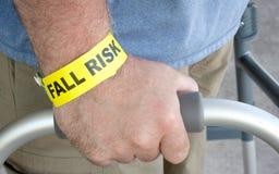 Cierre del riesgo de la caída para arriba Imagen de archivo