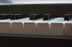 Teclado de piano Foto de archivo libre de regalías