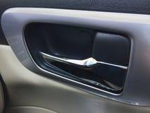 Cierre dentro del coche Fotografía de archivo libre de regalías