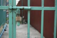 Cierre el ontp la cerca Imágenes de archivo libres de regalías
