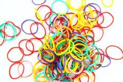 Cierre - encima de la cinta de goma Fotografía de archivo libre de regalías