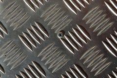 Cierre encima de la superficie de alta resolución de las estructuras del metal y de las superficies de acero fotografía de archivo libre de regalías