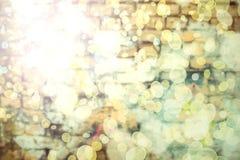 Cierre encima del fondo de la pared del bokeh libre illustration