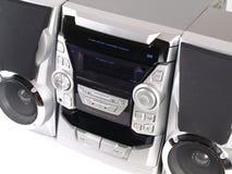 Cierre estéreo de plata del ángulo del rectángulo de auge para arriba Foto de archivo