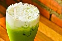 Té verde frío Foto de archivo