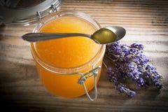 Cierre fresco de la miel para arriba Fotografía de archivo libre de regalías