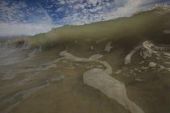 Cierre fresco de la onda para arriba Imágenes de archivo libres de regalías
