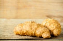 Cierre fresco del croissant para arriba foto de archivo libre de regalías