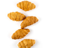 Cierre fresco del croissant para arriba imágenes de archivo libres de regalías