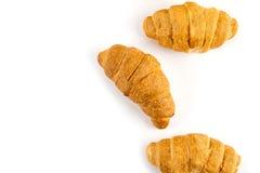Cierre fresco del croissant para arriba fotos de archivo libres de regalías